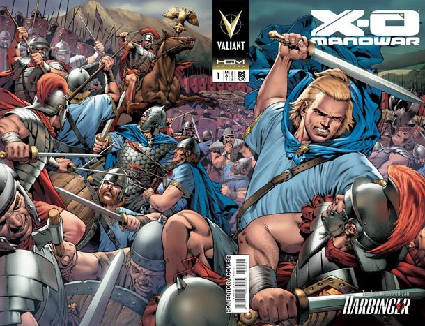 X-0 Manowar, pela HQM Editora