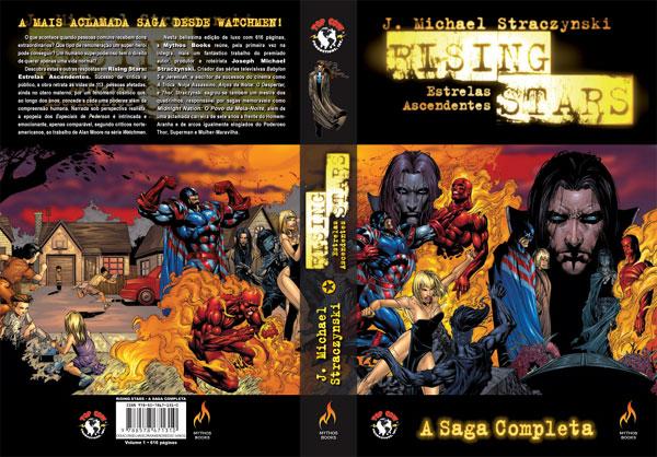 A capa do Encadernadão da Mythos Editora.