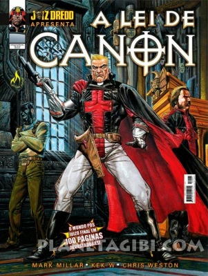 A Lei de Canon, de Mark Millar, Chris Weston e Kek-W (204, Mythos Editora, 100 páginas, R$ 16,40)