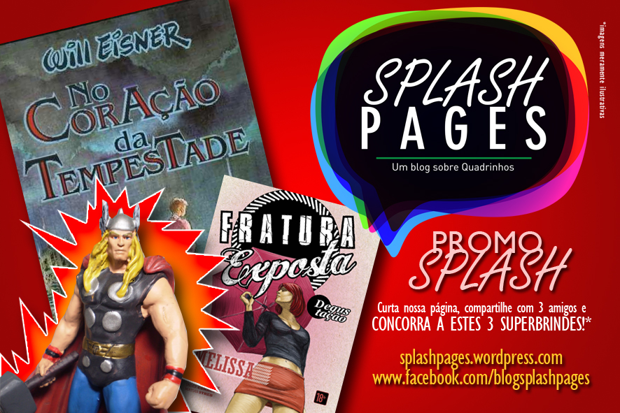 Promoção Splash Pages