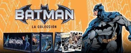 Uma das coleções do Batman lançada na Espanha pela Planeta de Agostini