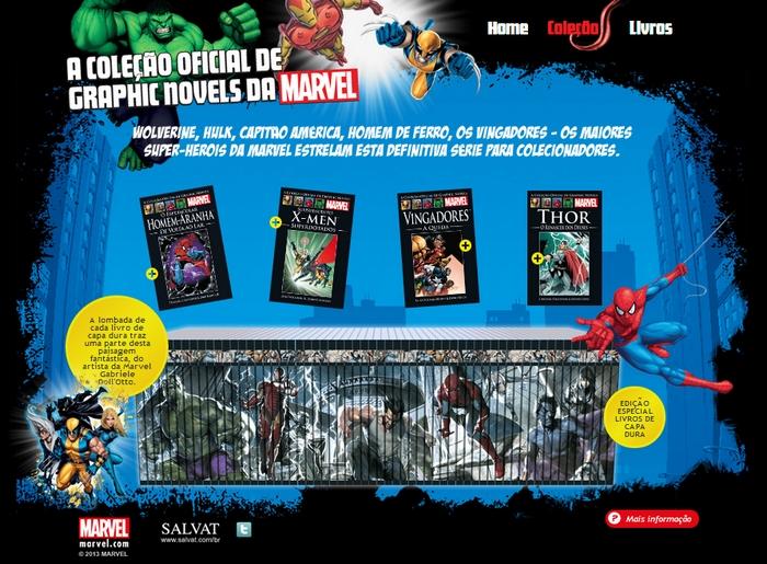 Salvat/Marvel: Más Escolhas