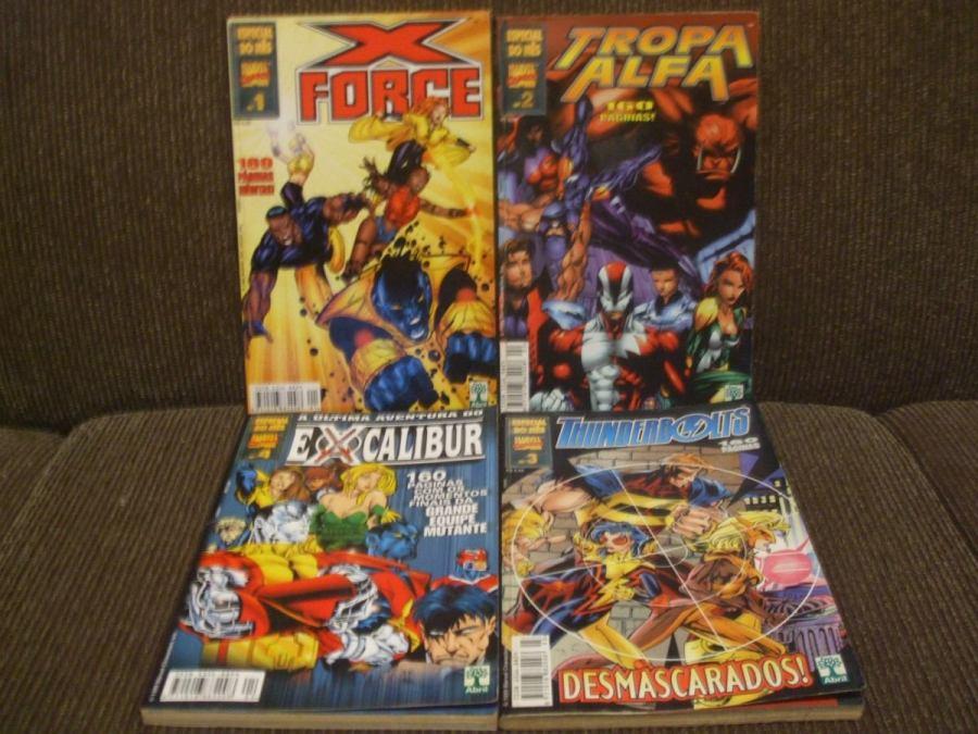 Os 4 Especial do Mês lançados em 1999 pela Editora Abril
