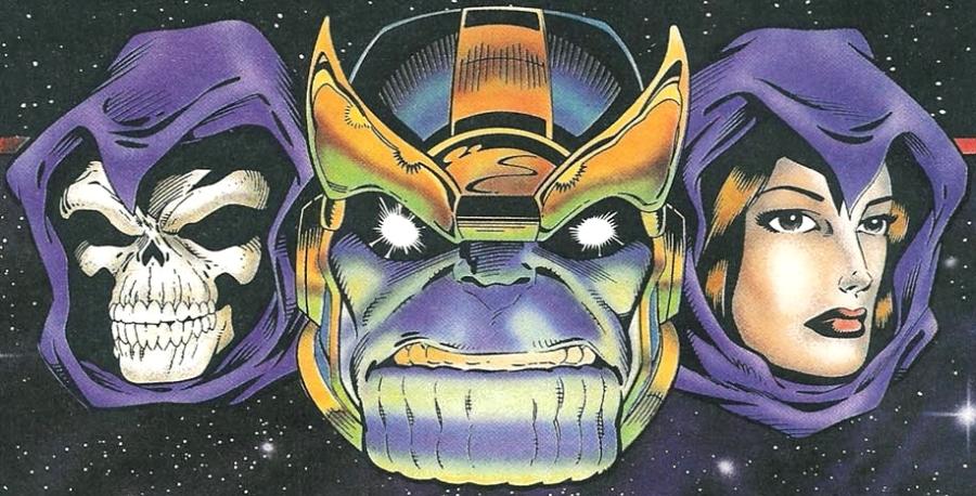 A morte não é parente do Thanos, mas também é Eterna.