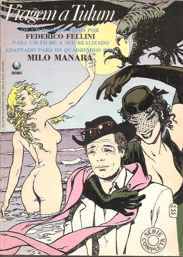 Viagem à Tulum, de Fellini e Manara