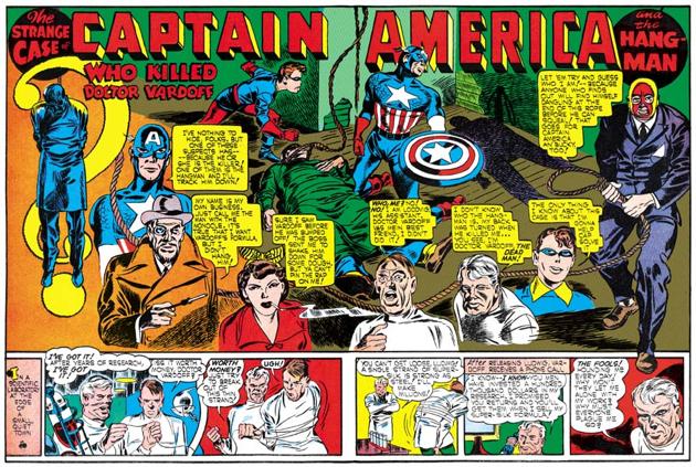 Muito antes de Stan Lee havia o Capitão América