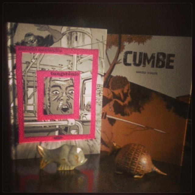 Tungstênio, de Marcello Quintanilha e Cumbe, de MArcelo D' Salete, ambos pela editora Veneta.
