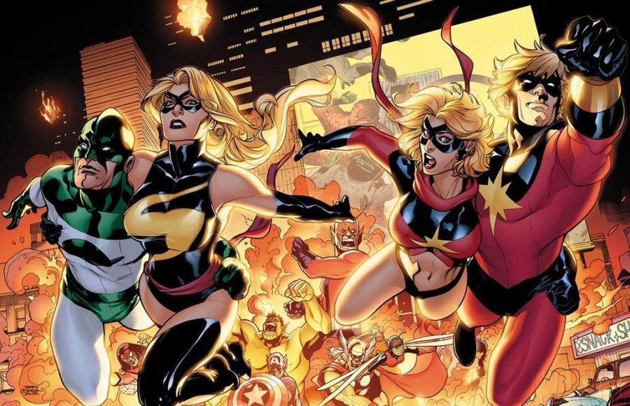 Vou lhes apresentar uma senhorita que nunca se viu: Miss Marvel 2000!