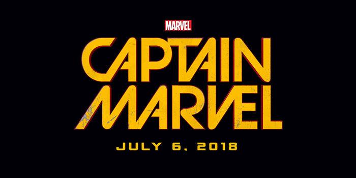 Capitã Marvel nos cinemas em 2018!