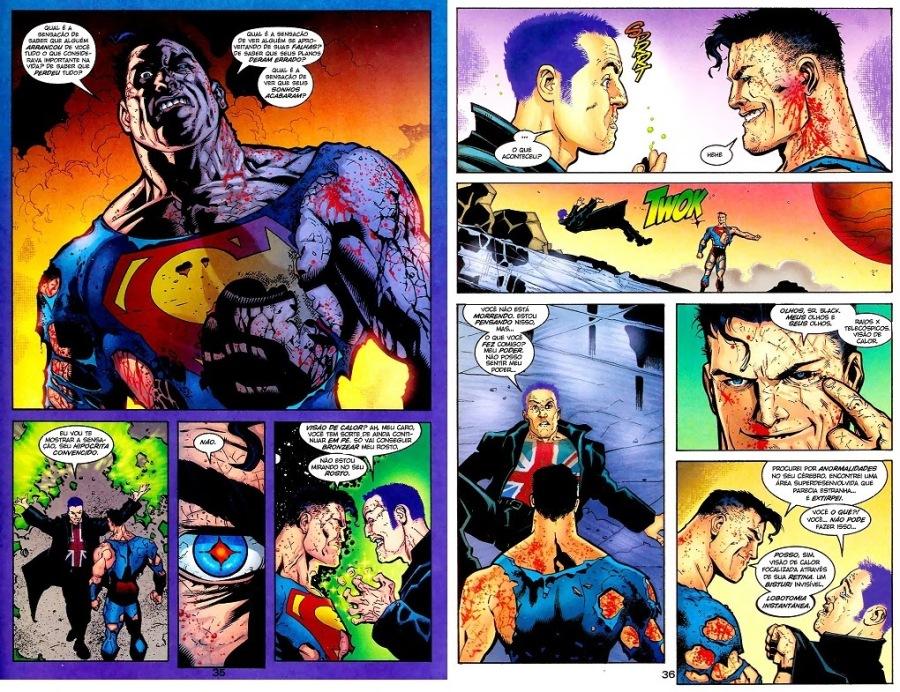 Superman x Elite Branca Católica Heteronormativa Dominante