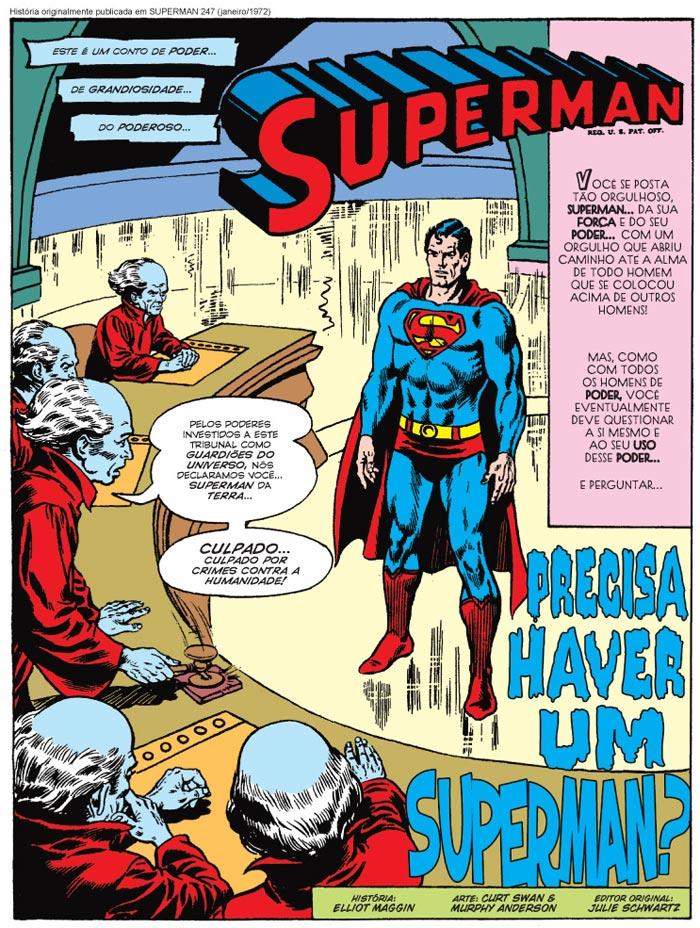 Precisa haver um Superman?