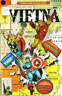 O Conflito do Vietnã #19, da série The 'Nam, o que aconteceria se os vingadores vencessem a Guerra do Vietnã?