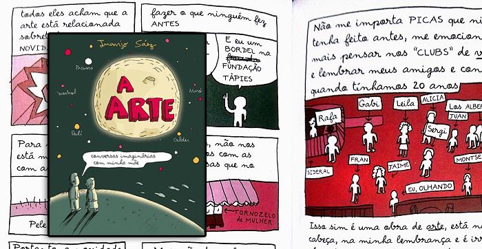 A Arte: Conversas Imaginárias com Minha Mãe, de Juanjo Saéz