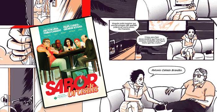 Sabor Brasilis, de Pablo Casado e Hector Lima e Felipe Cunha e George Schall