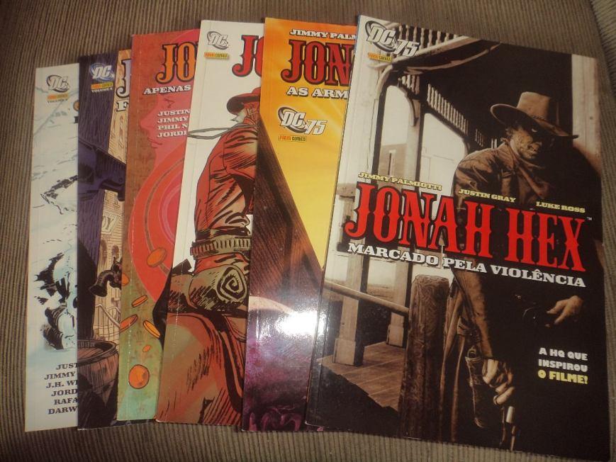 Série Jonah Hex, de Justin Gray, Jimmy Palmiotti e Diversos Artistas
