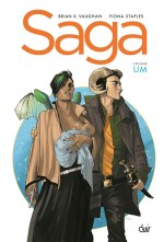 SAGA: VOLUME UM, de BRIAN K. VAUGHAN E FIONA STAPLES
