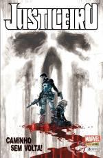Justiceiro #03, que contém Mercenário: O Jogo Perfeito, de Charlie Houston e Shawn Matinborough