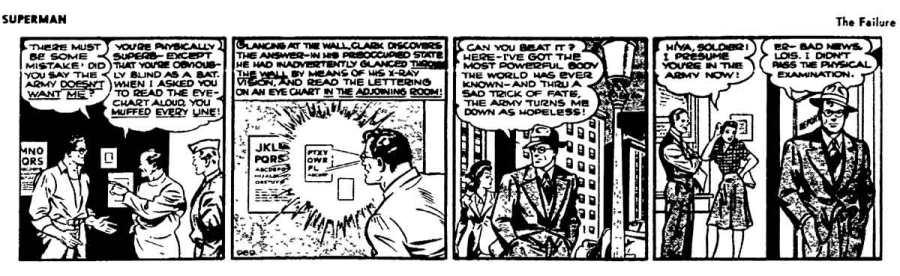 Bom, se até o Sperman quer evitar o exército, acho que é compreensível, né, gente?