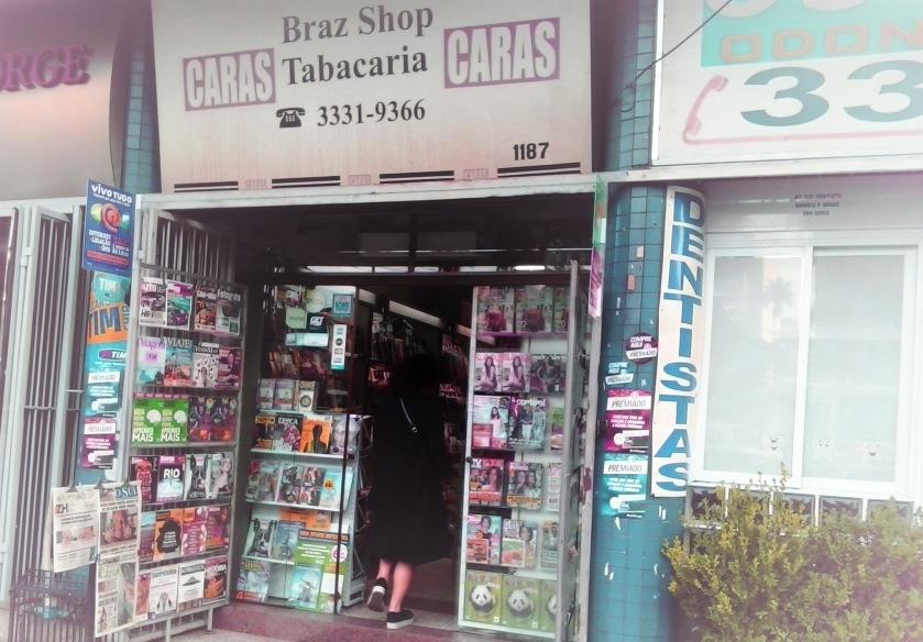 A Braz Shop Tabacaria fica na Av. Venâncio Aires, 1187, Bom Fim, Porto Alegre/RS