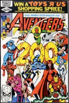 Avengers #200, o estupro e a gravidez de Miss marvel por seu próprio filho (?)
