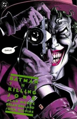 Piada sem graça é a da revista Batman: A Piada Mortal