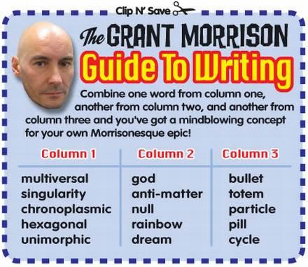 Aprenda a Escrever Quem Nem Grant Morrison