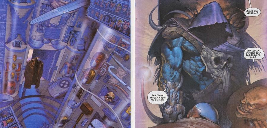 A galeria de troféus dos Vingadores e o novo Ceifador, que é o Wicanno no futuro!