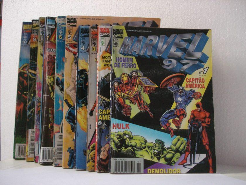 Naquela época eu não me im portava com o resto da Marvel, queria mais era ler X-Men e ser feliz, mas o tempo provou como eu estava errado.