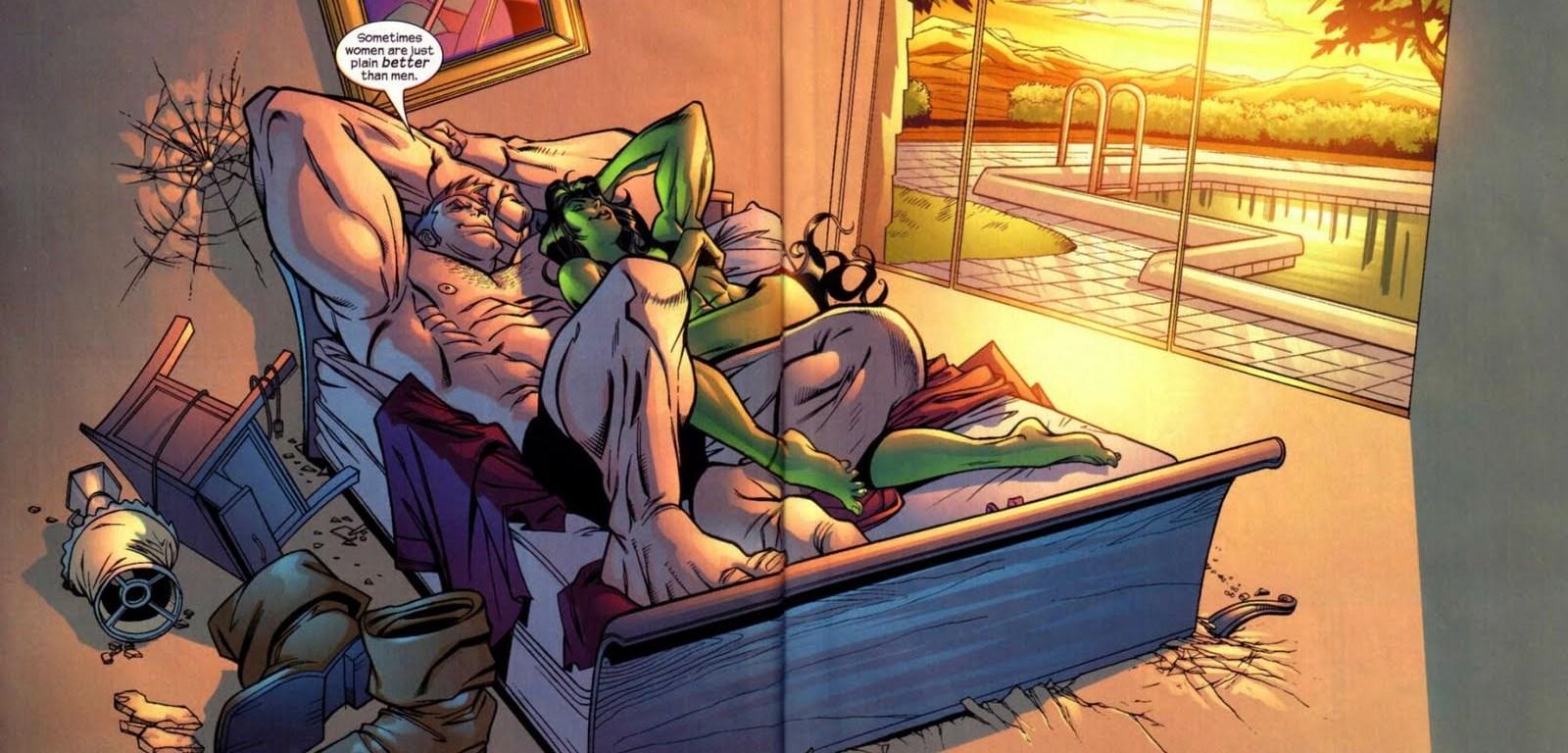 Ele é Fanático pela Mulher-Hulk!