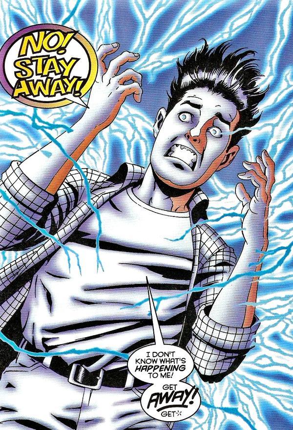 Os poderes chocantes de Chris Bradley!