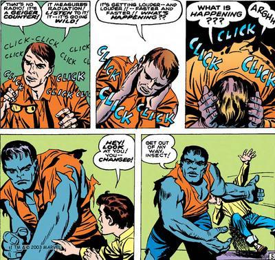 Conhece o Hulk Azul?