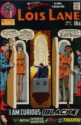 """""""Sou curiosamente negra!"""", diz Lois Lane!"""
