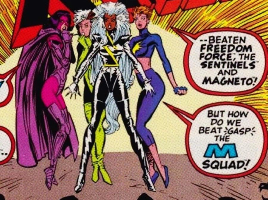 A Moda Anos 80 seria uma ameaça ou uma aliada das X-Women?