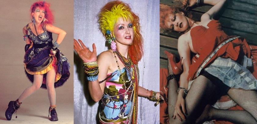 Cyndi Lauper, ícone de uma época.