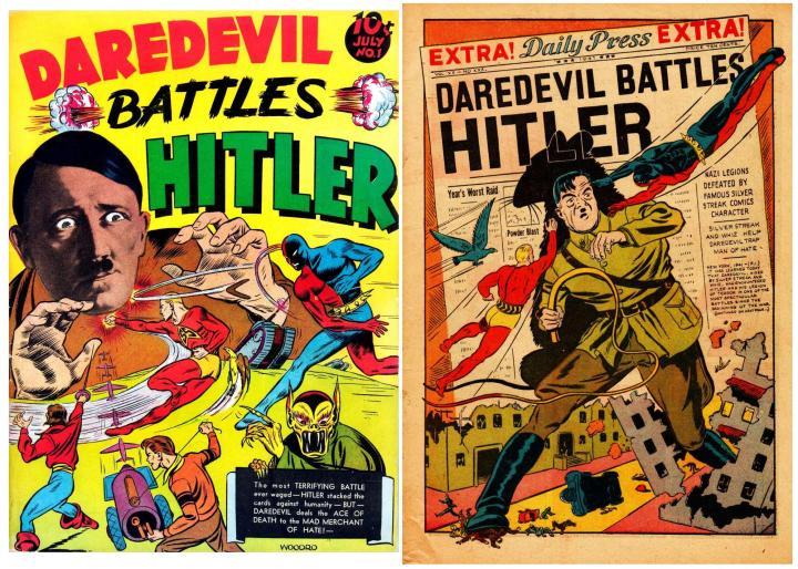 Daredevil Battles Hitler!