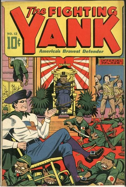 O Lutador Yanque com os japoneses ao seus pés!