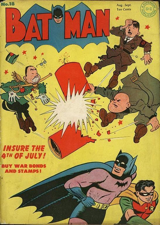 A Dinamite do Batman explode no Eixo! Santa Cortina de Ferro!