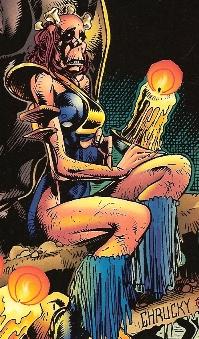 Medula, na sua primeira aparição enquanto adulta.