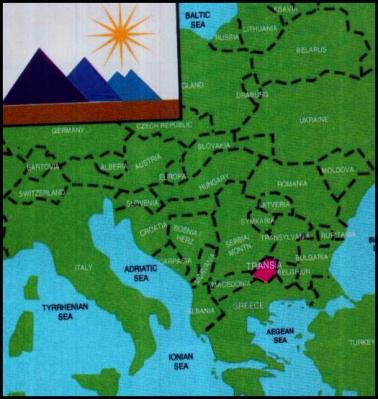 Mapa da Trânsia