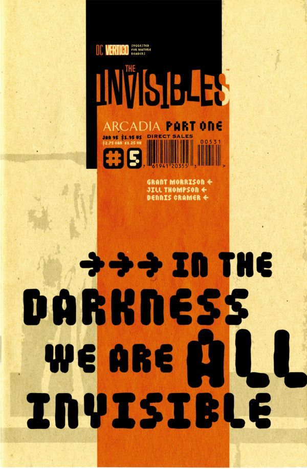 A capa de The Invisibles#05