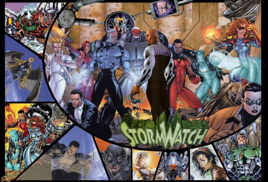 Várias encarnações da StormWatch, os stalkers da Ororo Monroe!
