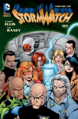 StormWatch Volume Um, de Warren Ellis e Tom Raney. (2015, Panini Comics, 164 Páginas, R$22,90, Tradução de Paulo H. Cecconi)