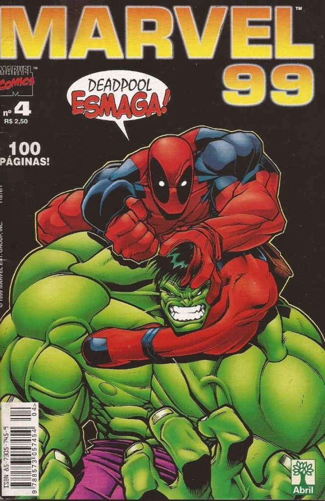 Deadpool vs. HULK! Bons tempos!