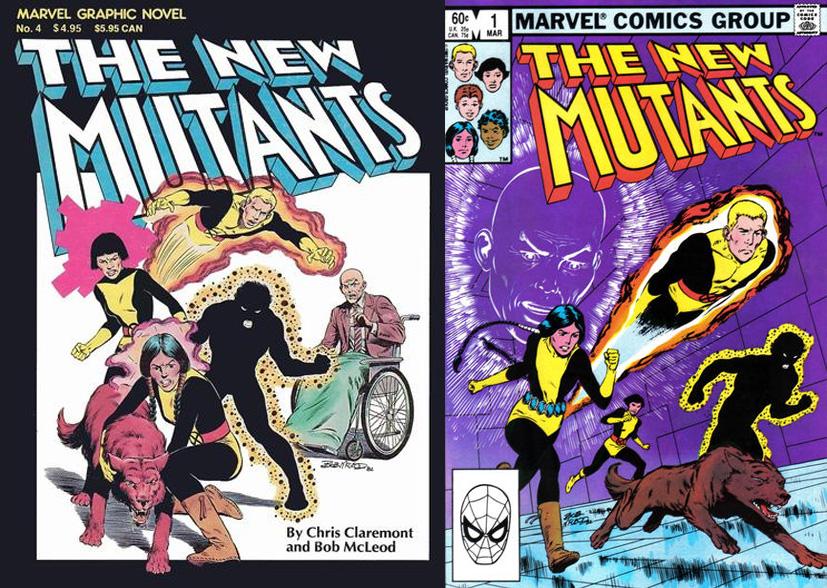 O início dos Novos Mutantes!