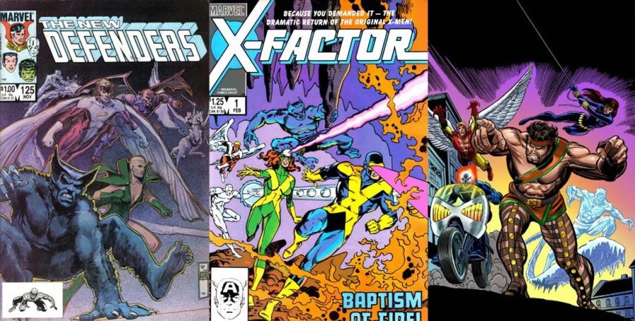 As revistas derivadas dos (gasp!) X-Men da Costa Oeste!