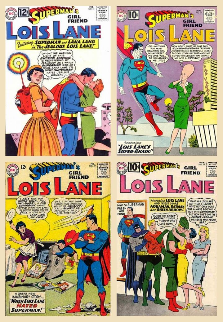 Lois com o ciumômetro; Lois cônica e cômica; Lois com o Superbebê; Lois a atrevidinha!
