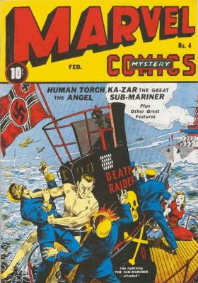 Nas suas primeiras aparições, Namor era um agente do Caos, um inimigo dos Estados Unidos...