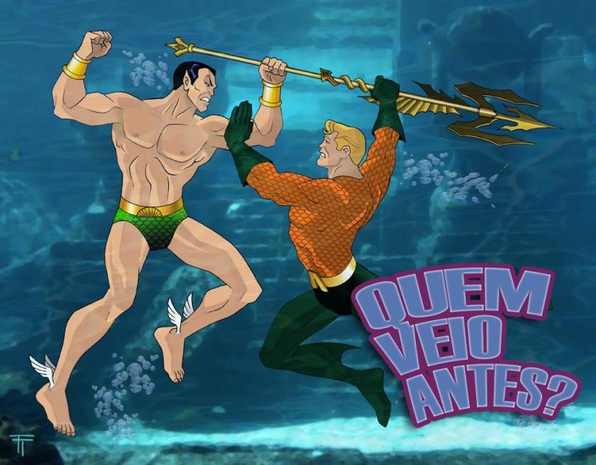 Namor vs Aquaman