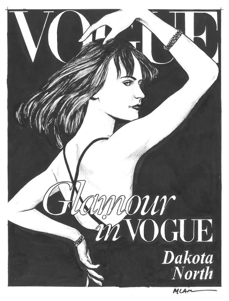 Dakota North também foi modelo e ela veio antes da Hanna Montana e da Alaska Nebraska