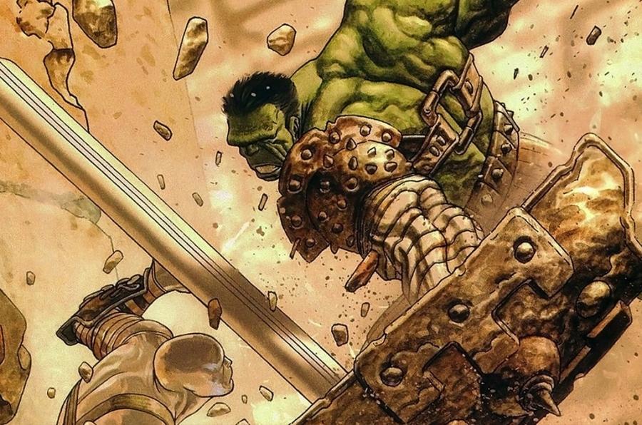 Só mesmo o Hulk para nos tirar da órbita...